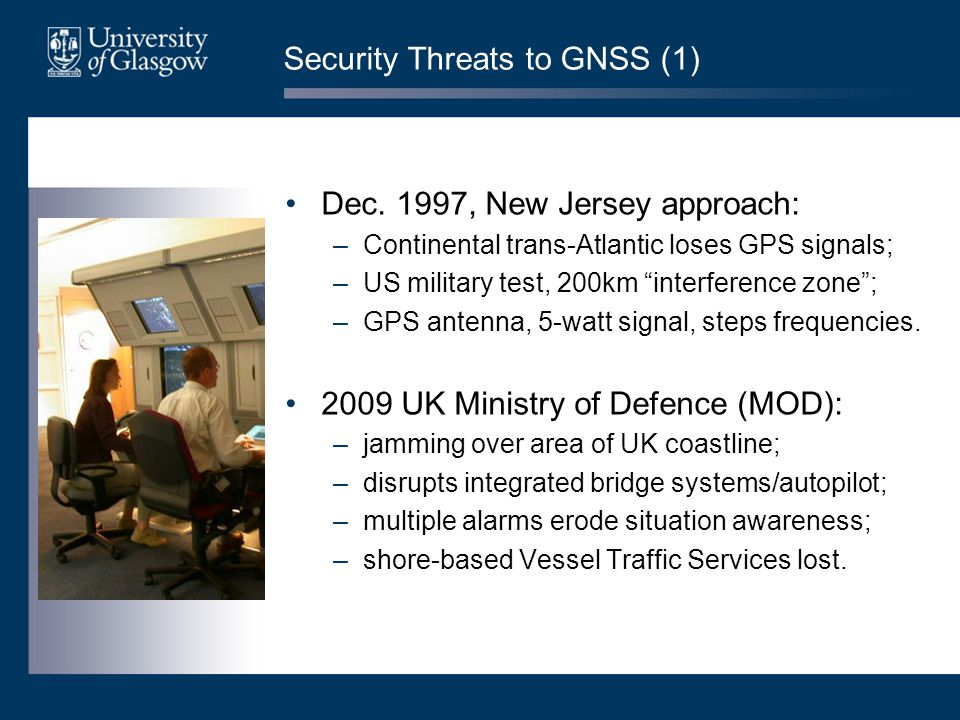 Security Threats to GNSS (1) Dec.