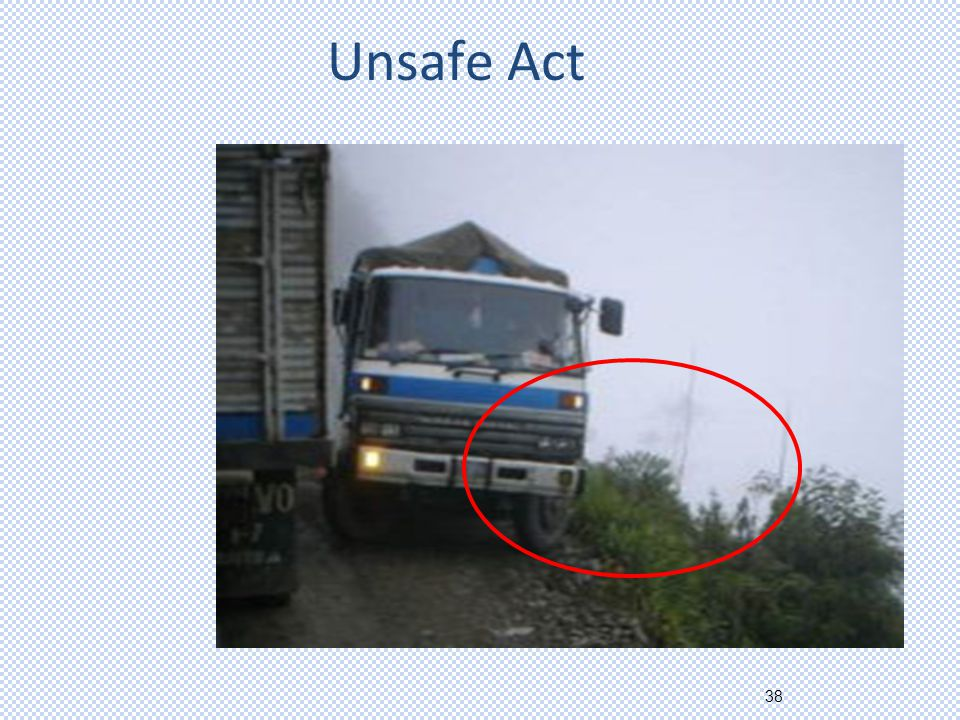 38 Unsafe Act