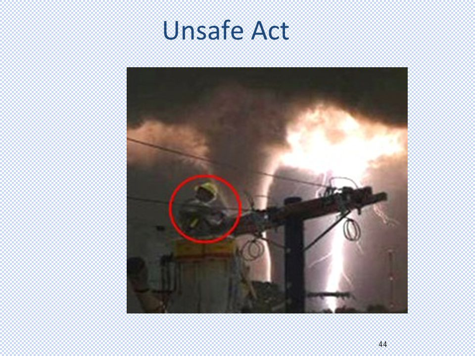 44 Unsafe Act