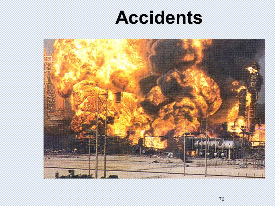 76 Accidents