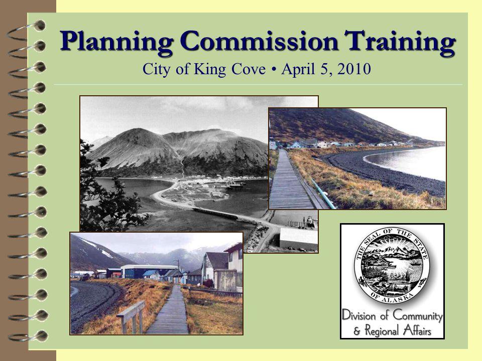 Alaska Statute: Title 29, Chapter 40 Planning, Platting and Land Use Regulation 4 29.40.010.