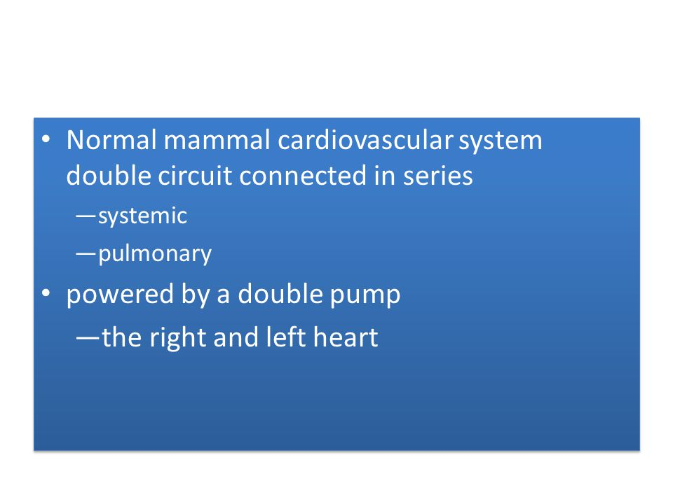 Many complex cardiac malformations - one functional ventricle Maintain systemic and pulmonary circulation - not connected in series but in parallel Major disadvantages – arterial desaturation – chronic volume overload to single ventricle - in time impair ventricular function Many complex cardiac malformations - one functional ventricle Maintain systemic and pulmonary circulation - not connected in series but in parallel Major disadvantages – arterial desaturation – chronic volume overload to single ventricle - in time impair ventricular function