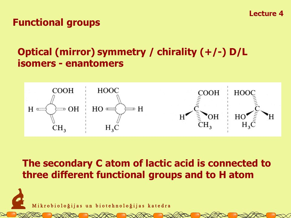 Lecture 4 Functional groups