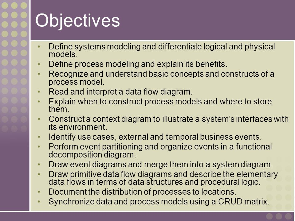 9-33 Modern Structured Analysis (More Commonly Practiced) 1.Draw context DFD to establish initial project scope.