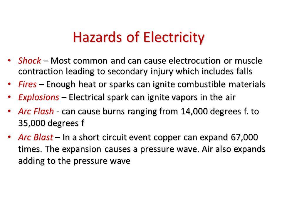 Photo depicts hazardous condition
