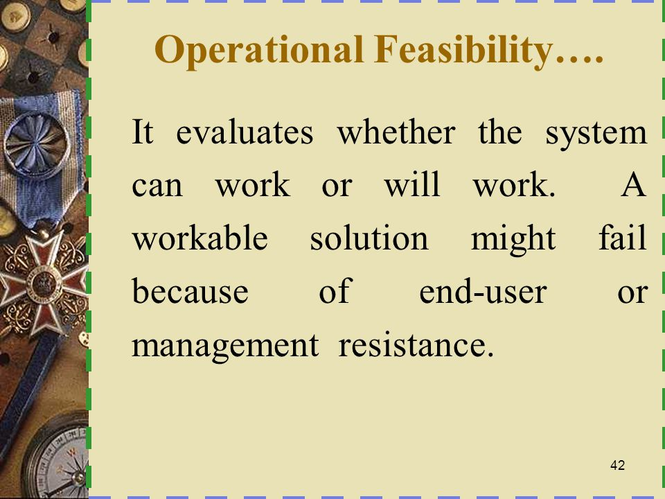 Using Pieces Frame Work PPerformance- the system should provide adequate throughput and response time IInformation - the system should provide end users with timely, pertinent, accurate and useful information.