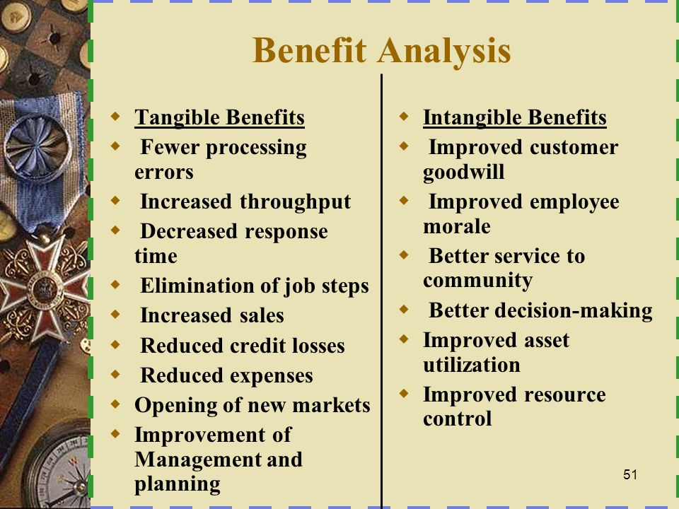 Economic Feasibility  Payback analysis – How long will it take to recoup the costs of this project.