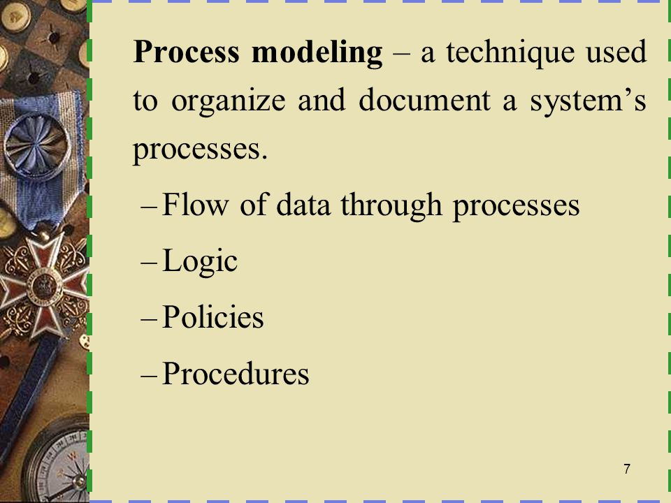 Data flow diagram (DFD) – a process model used to depict the flow of data through a system and the work or processing performed by the system.