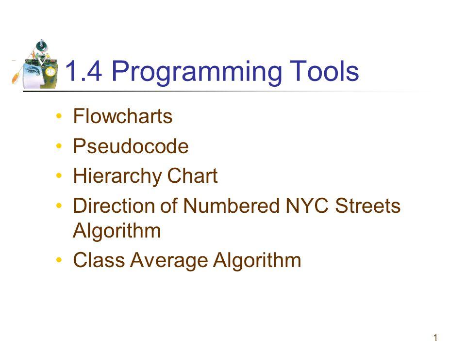 Flowcharts and Pseudocode 2