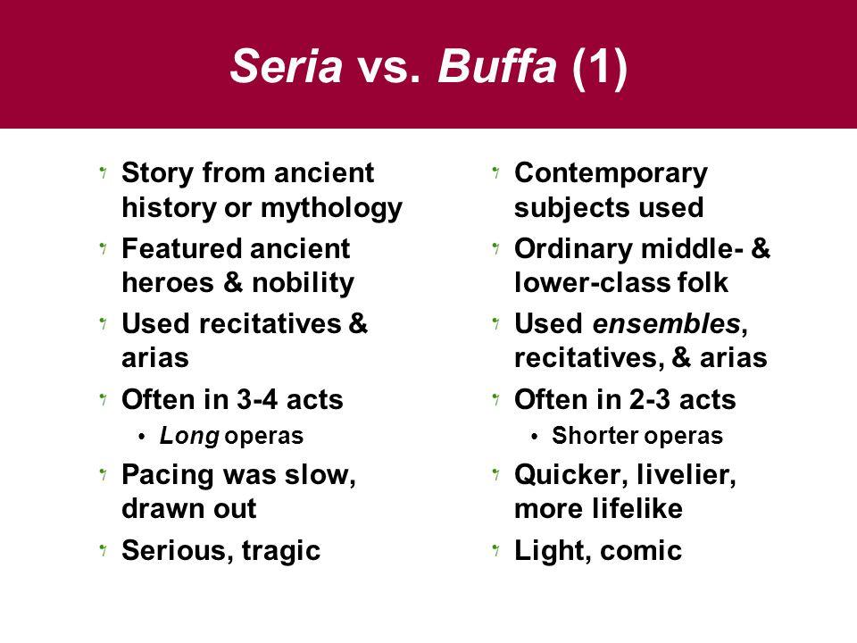 Seria vs.