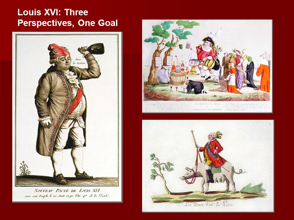 Louis XVI: Three Perspectives, One Goal