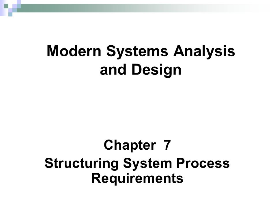 12 Chapter 7 Definitions and Symbols (Cont.) Process: work or actions performed on data (inside the system) Data store: data at rest (inside the system)