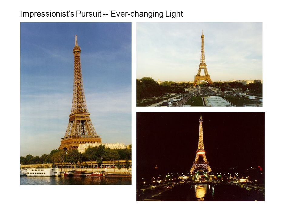 Impressionist's Pursuit -- Ever-changing Light