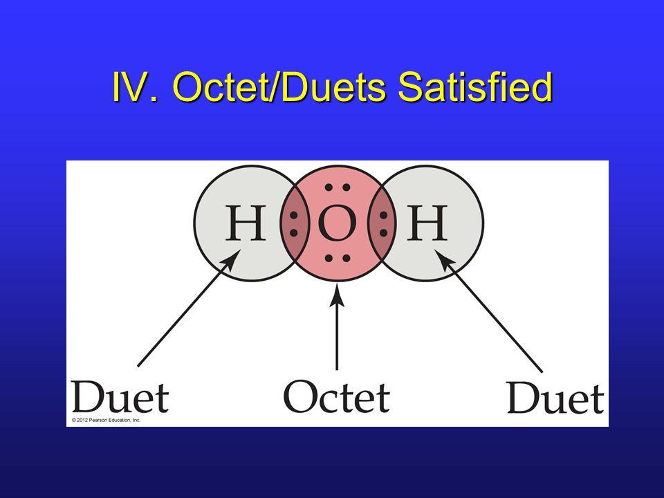 IV. Octet/Duets Satisfied