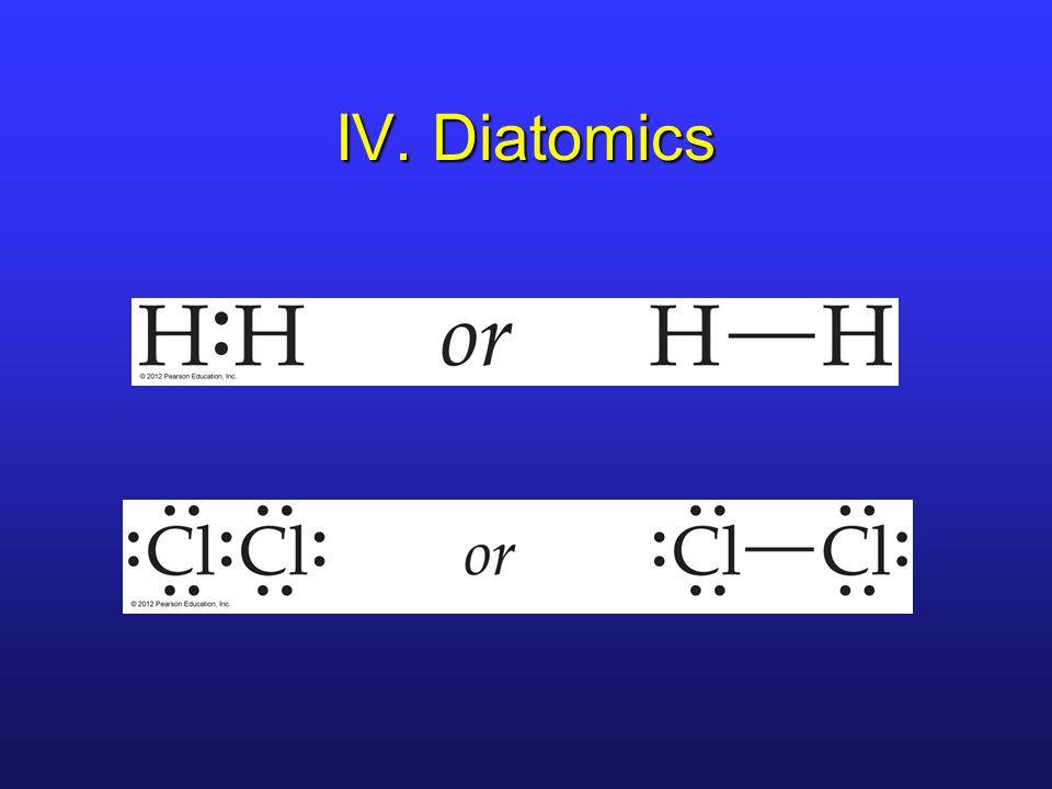 IV. Diatomics