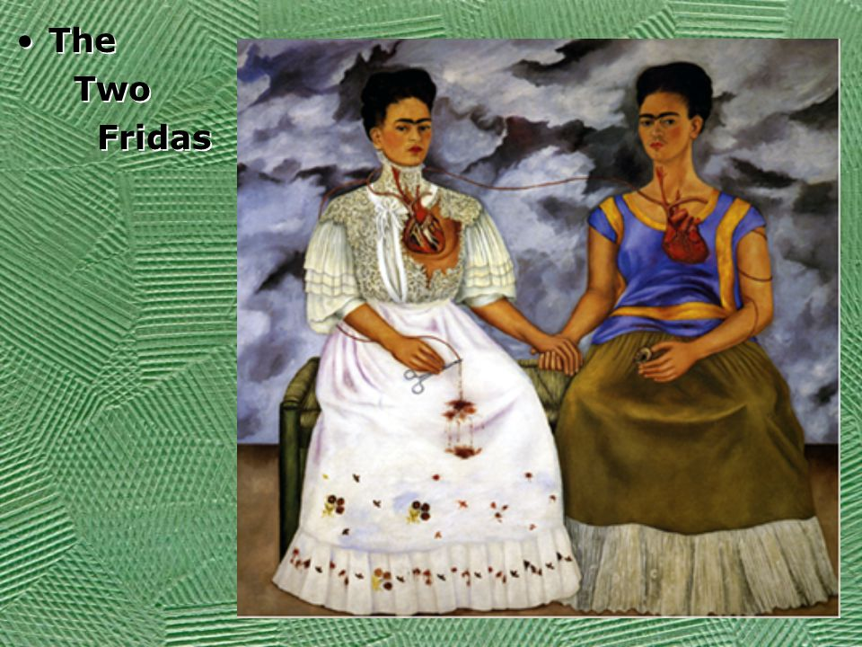 The Two Fridas The Two Fridas