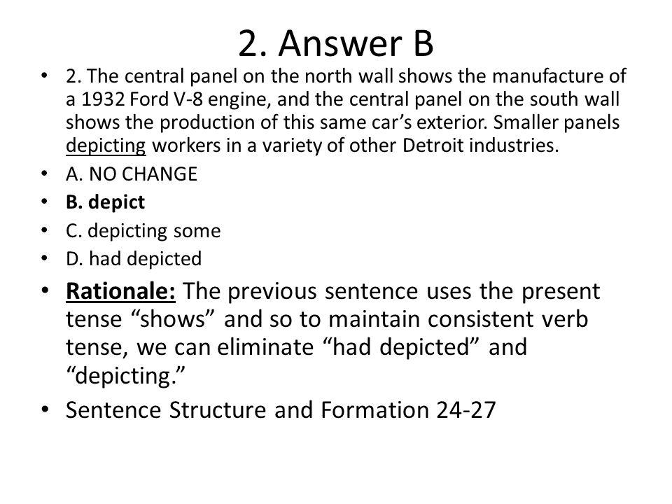 2. Answer B 2.