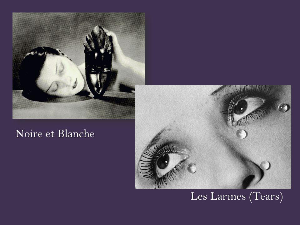 Les Larmes (Tears) Noire et Blanche