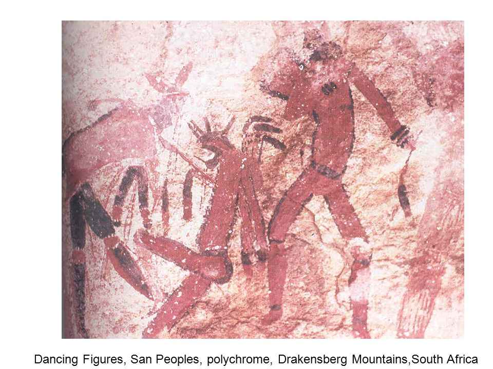 Drawing after a painting depicting a ritual ceremony ---note the depiction/presence of phospheme