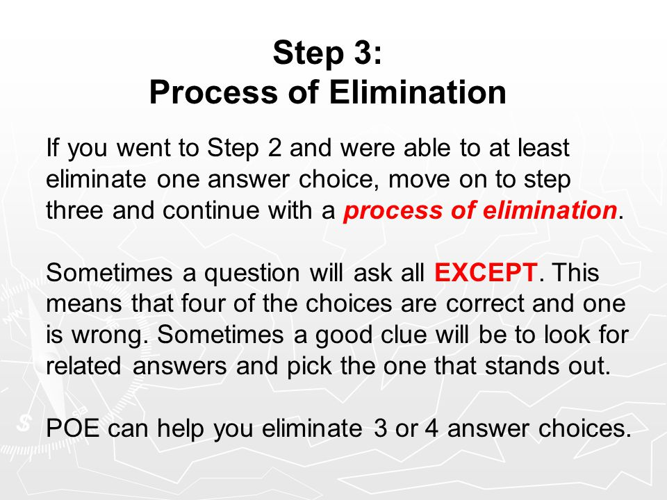 Step 4: Guess and Go Human Geography does have what is commonly known as a guessing penalty.