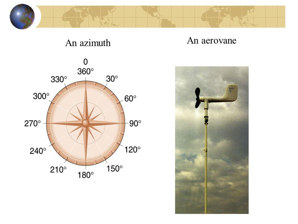 An aerovane An azimuth