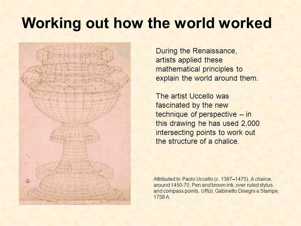 Working out how the world worked Attributed to Paolo Uccello (c.