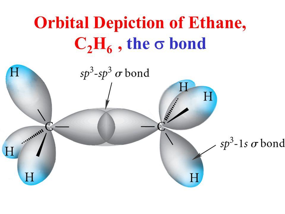 Orbital Depiction of Ethane, C 2 H 6, the  bond