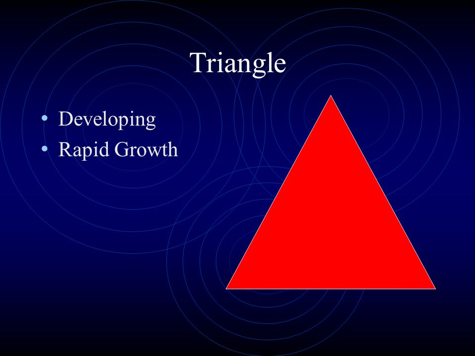 Triangle Developing Rapid Growth