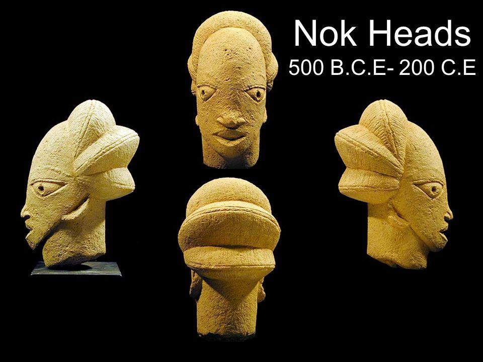 Nok Heads 500 B.C.E- 200 C.E