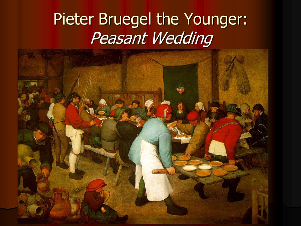 Pieter Bruegel the Younger: Peasant Wedding