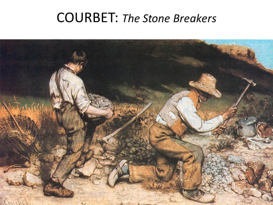 COURBET: The Stone Breakers
