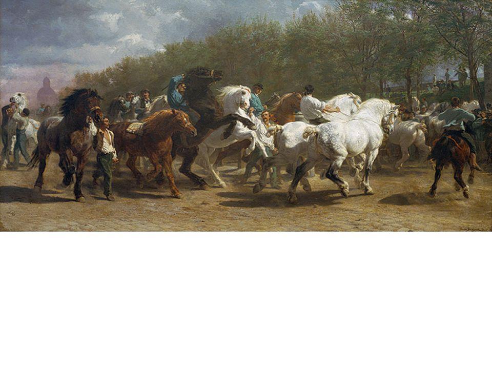 Rosa Bonheur, The Horse Fair, 1853