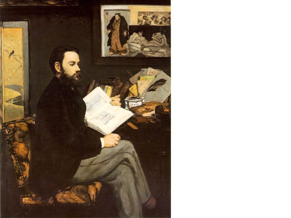 Edouard Manet, Portrait of Emile Zola, 1868