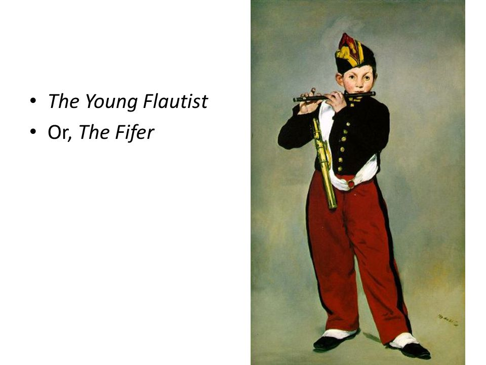 The Young Flautist Or, The Fifer