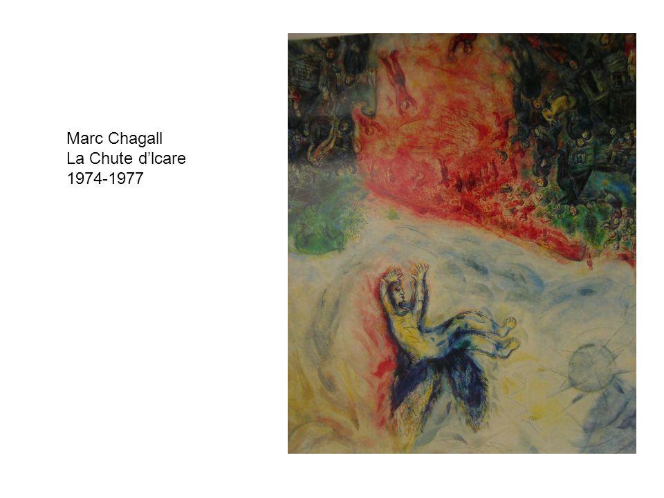 Marc Chagall La Chute d'lcare 1974-1977