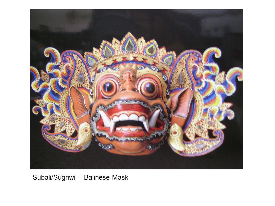 Subali/Sugriwi – Balinese Mask