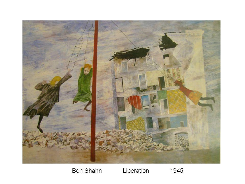 Ben Shahn Liberation1945