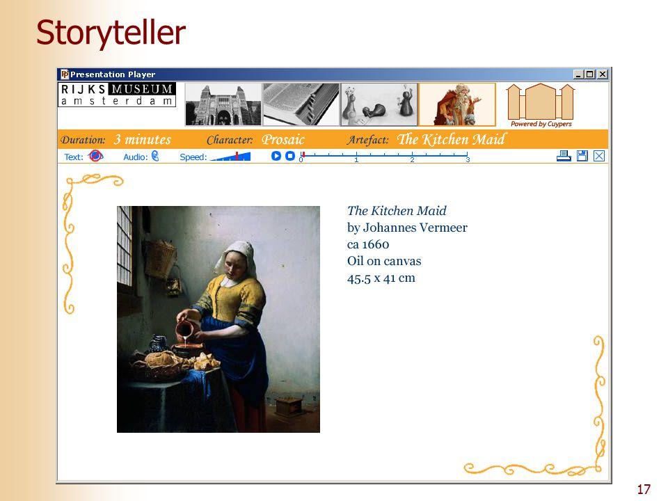 17 Storyteller