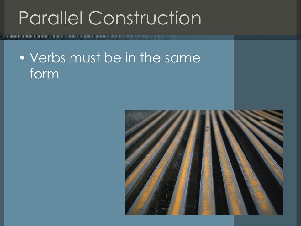 Parallel vs.