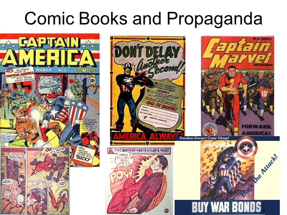 Comic Books and Propaganda