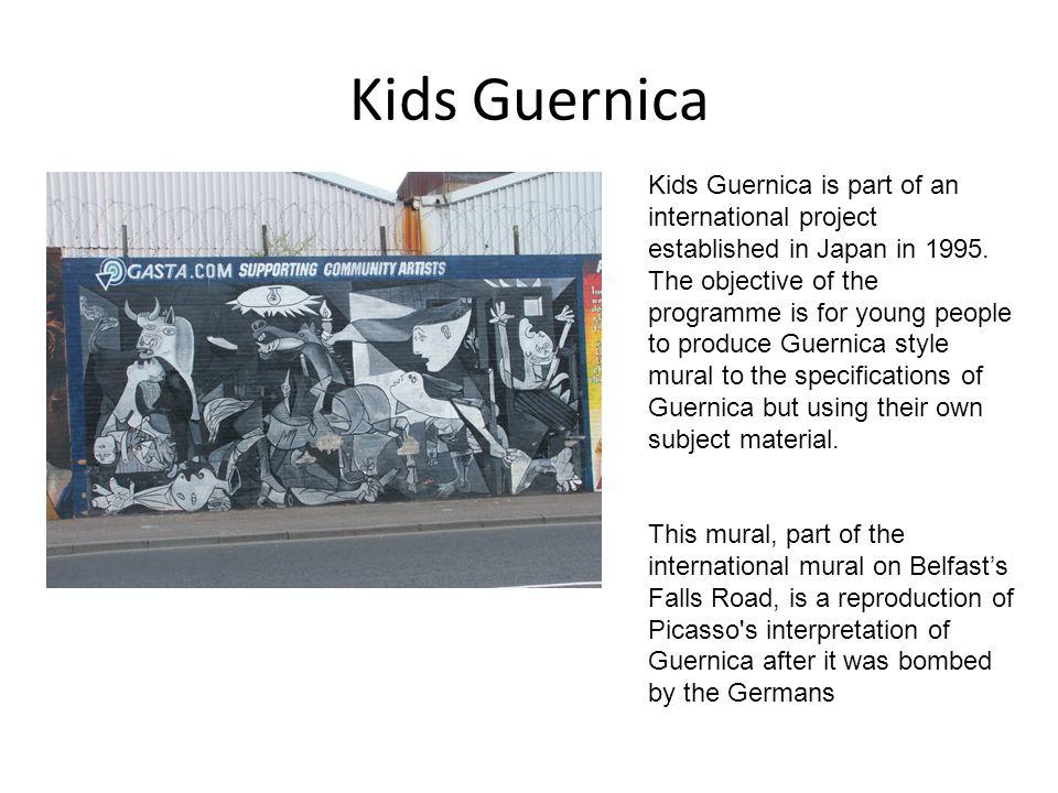 Kids Guernica Kids Guernica is part of an international project established in Japan in 1995.