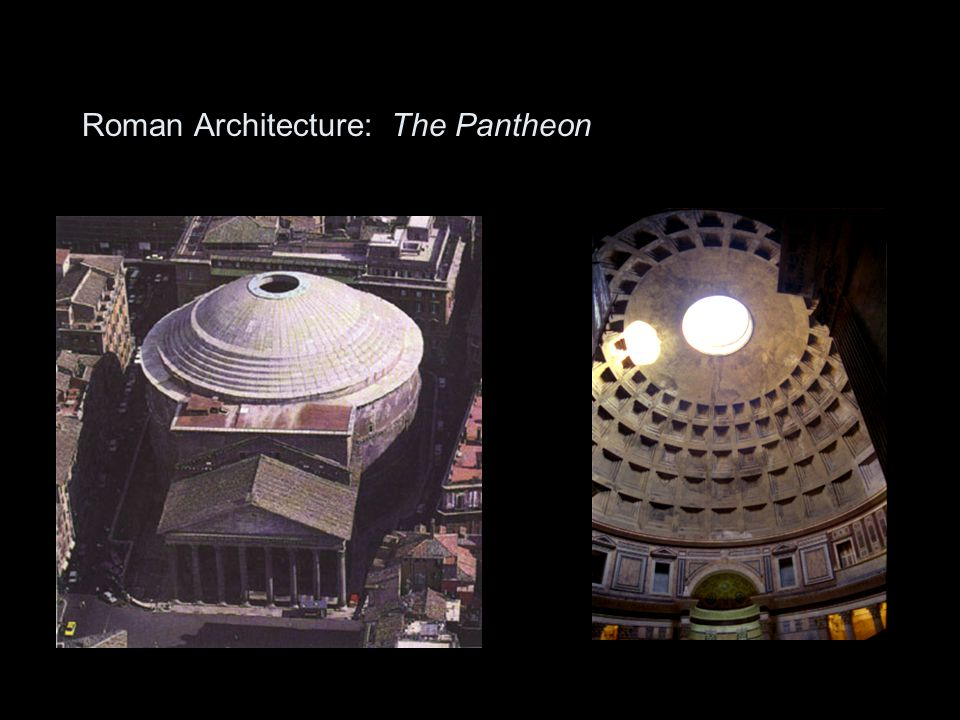 Roman Architecture: The Pantheon