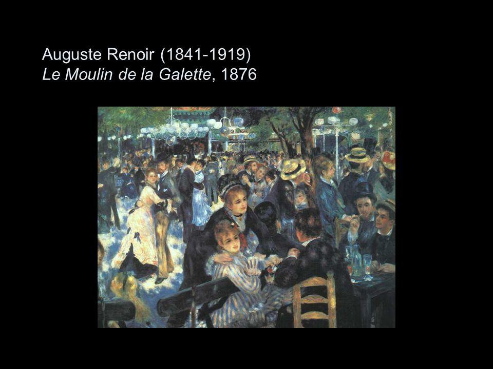 Auguste Renoir (1841-1919) Le Moulin de la Galette, 1876
