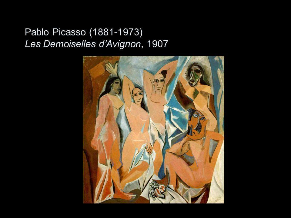 Pablo Picasso (1881-1973) Les Demoiselles d'Avignon, 1907