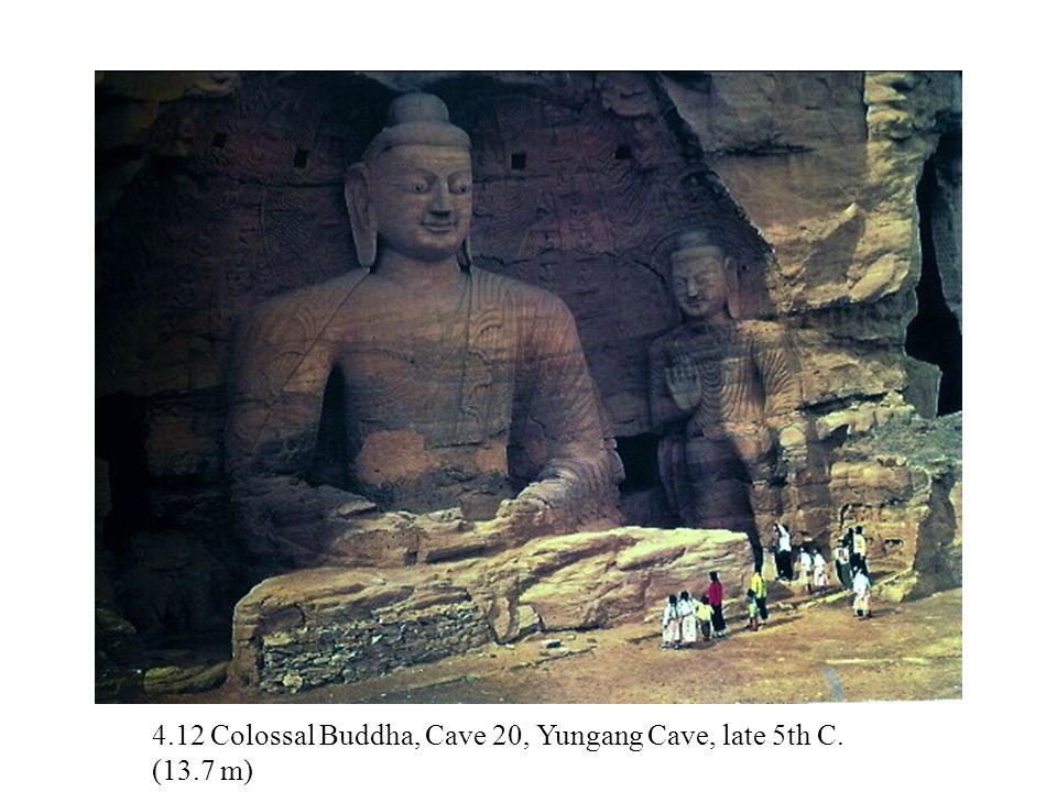 4.12 Colossal Buddha, Cave 20, Yungang Cave, late 5th C. (13.7 m)