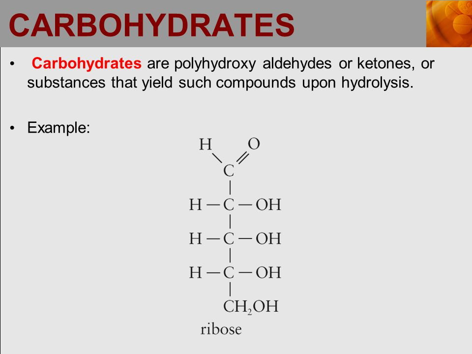 MONOSACCHARIDE CLASSIFICATION Questions to ask when classifying a monosaccharide: Is the monosaccharide an aldehyde (aldose) or ketone (ketose).