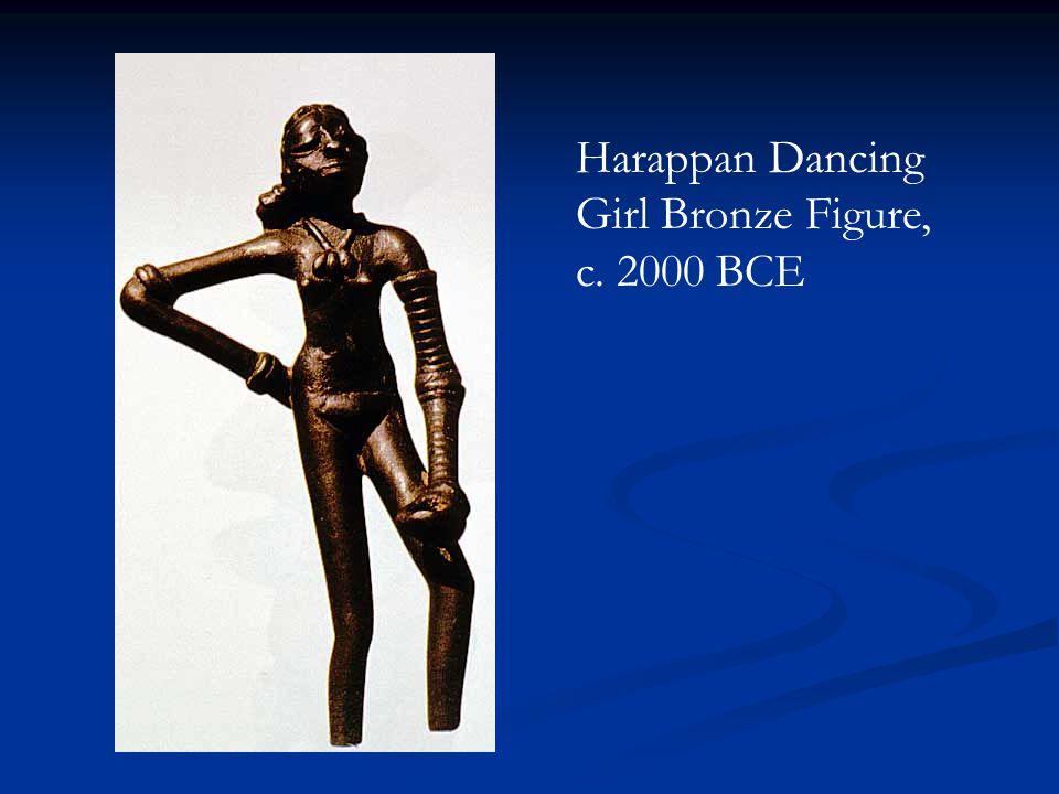 Harappan Dancing Girl Bronze Figure, c. 2000 BCE