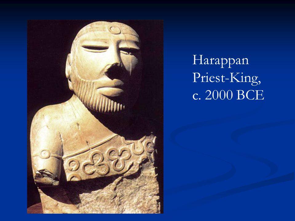 Harappan Priest-King, c. 2000 BCE