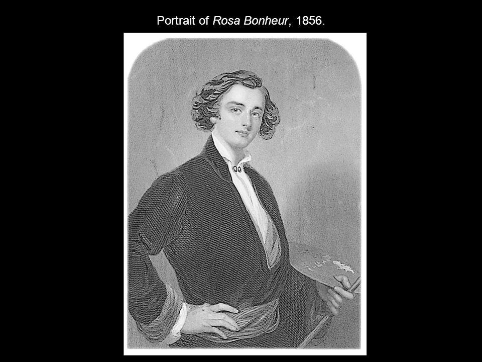 Portrait of Rosa Bonheur, 1856.