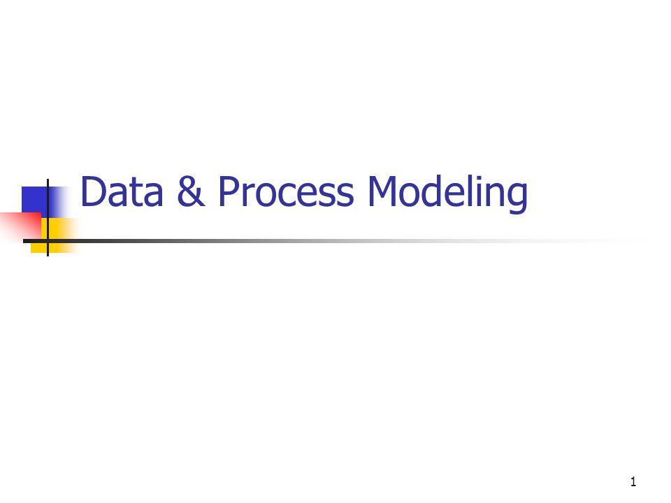 1 Data & Process Modeling